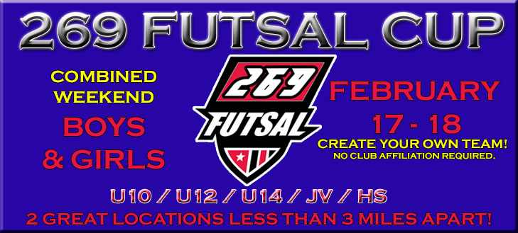 269 Futsal Tournament on February 17, 2018