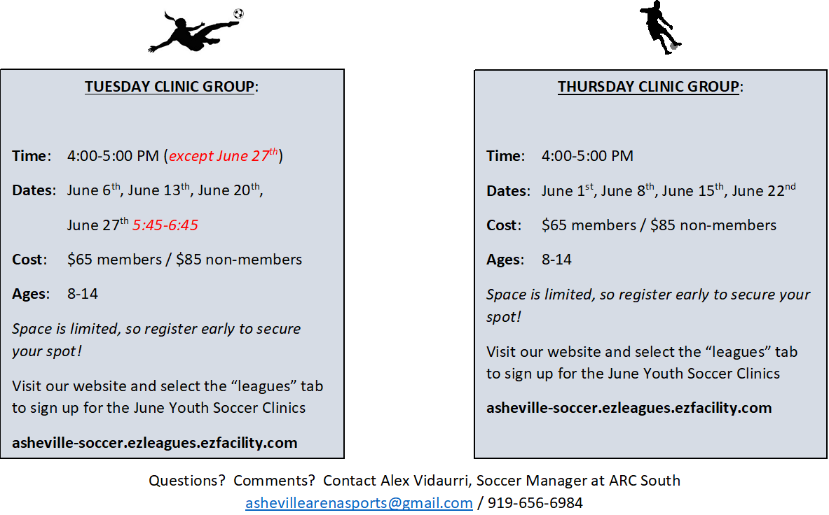 JUNE CLINIC UPDATED