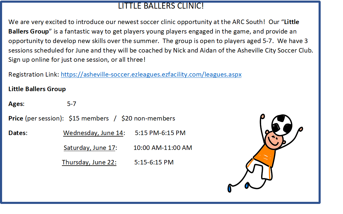 LITTLE BALLERS CLINIC