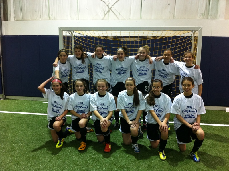 U14 Girls Tournament Champions - CFC Extreme