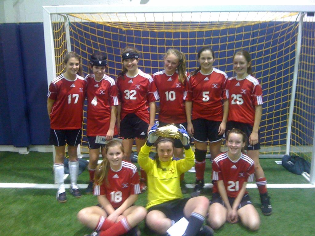 U12/U13 Girls Tournament Champions - Central CT Extreme